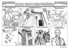 Fichas de la Edad Contemporánea.