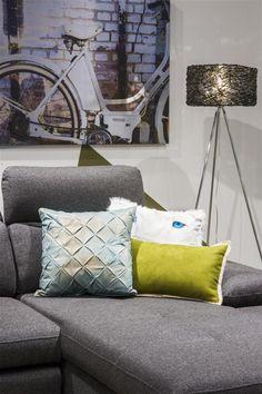 Collectie Prima-Lux en Idee+:  decoratiekussens, de ideale manier om een nieuw accent of sfeer te scheppen in huis