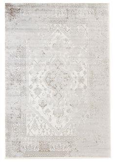 Matta 185 x 275 cm (wilton) - Agata (cream/silver)