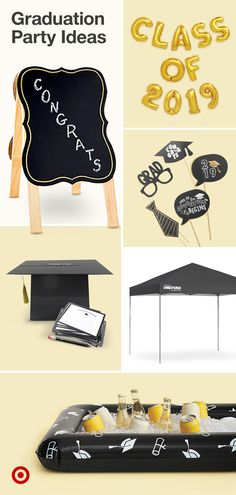 Celebrate their day with a memorable graduation party. Get fun ideas for food, appetizers, party games & decor.