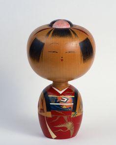 Kokeshi Doll | Seattle, WA Matryoshka Doll, Kokeshi Dolls, Japanese Gifts, Vintage Japanese, Hama Beads Minecraft, Perler Beads, 3d Origami, Peyote Patterns, Wooden Art