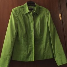 Jacket by Requirements Green button down jacket by Requirements. Worn once. Requirements Jackets & Coats Blazers