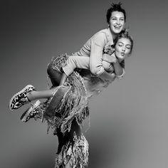 Gigi Hadid & Bella Hadid
