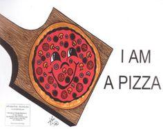 I am a Pizza English Little Book
