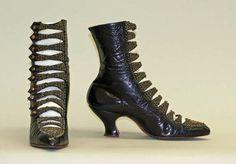 Shoes ca. 1905 via The Costume Institute of The Metropolitan Museum of Art