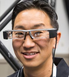 Epson Moverio BT-200 smart glasses available in ~March 2014. 60% reduced weight, better touch screen controls and compatible with Android. $599 - still not quite there in my opinion maybe another 2-4 more iterations.