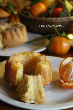 상큼한 향기의 시작...귤 케익