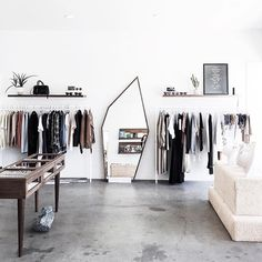 As the shopping 😍 clothing boutique interior, retail store design, store Clothing Boutique Interior, Clothing Store Design, Boutique Decor, Boutique Design, Showroom Design, Interior Design, Fashion Retail Interior, Store Layout, Store Interiors