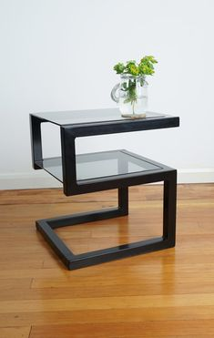furniture Modern metal table designmetal furniture Modern metal table design Glass & Steel Coffee Table by UrbanMetalworksUK on Etsy Lexington Oyster Bay Deerwood End Table Side Table 5 Decor, Table Design, Welded Furniture, Iron Furniture, Home Decor, Steel Coffee Table, Coffee Table, Metal Furniture, Home Decor Furniture