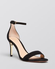 Tory Burch Ankle Strap Sandals - Keri High Heel | Bloomingdales's size 10
