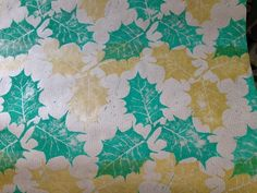 Christmas Holly Wrapping Paper Festive Gift Wrap