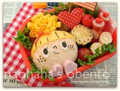 かたつむりとカエルと長ぐつのお弁当* の画像|naohaha's obento*