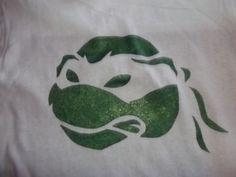 teenage mutant ninja turtle tshirt stencil