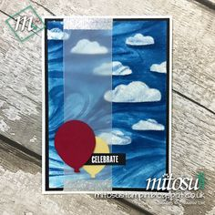Check out Jay's entry to Stamp, Ink, Paper Colour Challenge using Marbled Background Stamp amongst other Stampin' Up! products available to order from Mitosu Crafts UK Online Shop. Marble Card, Concord And 9th, Cardmaking, Stampin Up, Birthday Cards, Balloons, Stationery, Hampshire, Paper