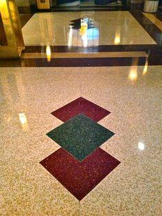 Hotel Lobby Terrazzo Floors