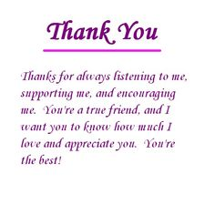 Thank You Messages To Write In A Card  Messages Note And Nice