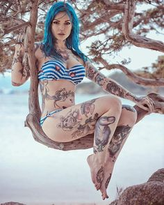 """2,440 Likes, 15 Comments - Tattooed Girls (@tattooed_girls__) on Instagram: """"Dope! What do you think?"""""""