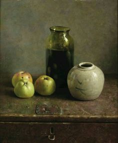 View A still life with apples and vases by Henk Helmantel on artnet. Browse upcoming and past auction lots by Henk Helmantel. Dutch Still Life, Still Life 2, Still Life Fruit, Still Life With Apples, Classical Realism, Great Works Of Art, Dutch Painters, Dutch Artists, Paintings I Love