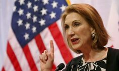(4th May 2015) CARLY FIORINA: Carly Fiorina formally declared herself a candidate for president on Monday, making her the first woman to seek the Republican nomination in 2016 – and perhaps Hillary Clinton's most antagonistic foil.