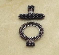 The Beading Gem's Journal review and links to a number of beaded clasps & closures.  #Seed #Bead #Tutorials