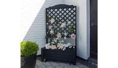 Der Pflanzkübel Holz Surgut wird aus der Kiefer und Fichte gefertigt. Der Pflanzkasten ist in der Farbe Anthrazit erhältlich. Ein schönes Highlight für den Garten, das Rankgitter kann mit schönen Kletterpflanzen geschmückt werden. Der Pflanzkasten inklusive Rankgitter misst 80 x 38 x 140 cm. Diese und weitere Pflanz- und Blumenkübel aus Holz finden Sie unter http://www.meingartenversand.de/pflanzkuebel/pflanzkuebel-holz.html