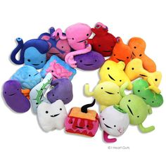 I Heart Guts - the best brand for the cutest anatomy stuffed animals - I want them all so badly!!!