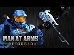Man at Arms Makes the Halo Gravity Hammer - Cheezburger