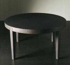 Круглый стол в цвете венге раскладной - трансформер Meridiani, Power