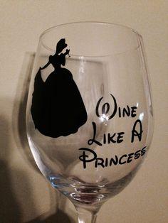 Cinderella's wine glass.