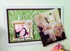 DIY: Fabric-Covered Bulletin Board Redo