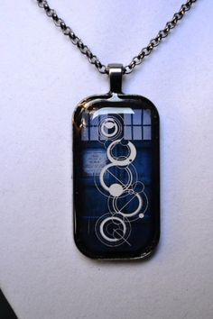 Custom Doctor Who Necklace YOUR NAME in by MrsBlasphemyDesigns, $20.00