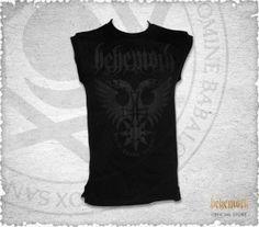 "Sleeveless shirt ""Behemoth Phoenix"" $18.13"
