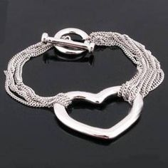 This trendy bracelet looks so much like our Pop Heart Bracelet!  Check it out!  Could make this with seed beads.