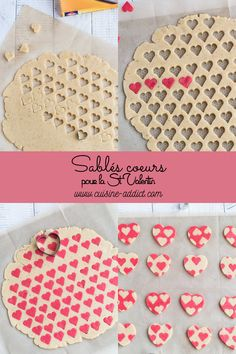 Shortbread biscuits with heart print for Valentine& Day - print . - Shortbread biscuits with heart print for Valentine& Day – - Valentines Day Cookies, Valentines Baking, Holiday Cookies, Valentine Sday, Valentine Cards, Buttery Shortbread Cookies, Shortbread Biscuits, Cake Cookies, Sugar Cookies