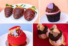 The Ultimate Guide to ALL the Sweet Treats in Disney World for Valentine's Day | the disney food blog Almond Cupcakes, Raspberry Cupcakes, Raspberry Mousse, Strawberry Buttercream, Minnie Cupcakes, Bear Cupcakes, Chocolate Hazelnut, Chocolate Peanut Butter, Strawberry Ice Cream Sandwich