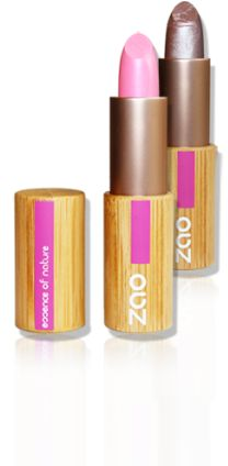 ZAO Premium Organic Make-up review/The French Organic Company.  Featuring eco-friendly refillable bamboo packaging.