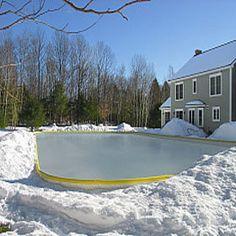 Nice Rink Outdoor Ice Skating Rink