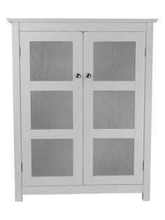 Elegant Home Fashions Connor Floor Cabinet with Two Doors