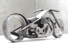 Bike 135 scrap metal art sculpture | Flickr : partage de photos !