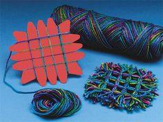 Buy Yarn Weaving Coasters Craft Kit at S&S Worldwide