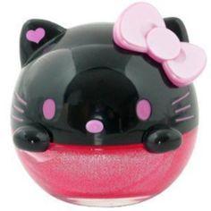 Air Freshener HELLO KITTY NEW Sanrio Kitty Black Face Pink Bow Premium Shampoo