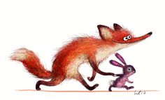 Wiebke Rauers Illustration — hi friends, I am currently doing some. Cute Animal Illustration, Cute Animal Drawings, Character Illustration, Cartoon Drawings, Cute Drawings, Illustration Art, Funny Animal Comics, Image Deco, Fox Drawing