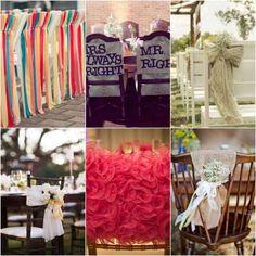 33 Chair Swag & Wedding Chair Decoration IdeasConfetti Daydreams – Wedding Blog