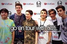 Go on tour with O2L