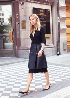 Tiny heels with skirt or black pants? From | pernille teisbaek
