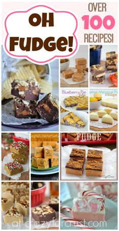 Fudge Recipes For The Holidays - lovefromtheoven.com