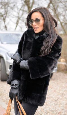 mink furs - italy royal saga mink fur coat
