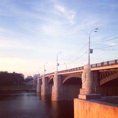 River Volga - Nature and industrial views #NatureAndIndustrialViews #City #GetWeHeartPics