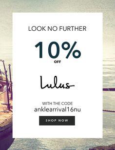 Share Coupons For Lulubuffett.com