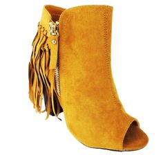 Truffle Collection Vela 25 Tassel Ankle Boots